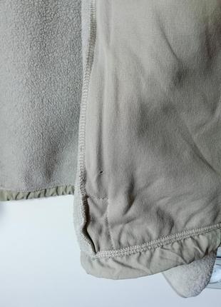 Тепленькая флисовая куртка the north face10