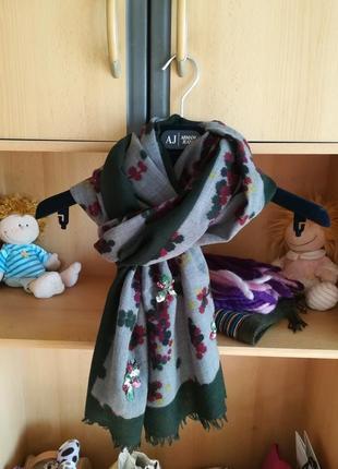 Красивый шерстяной шарф премии класса jeff .