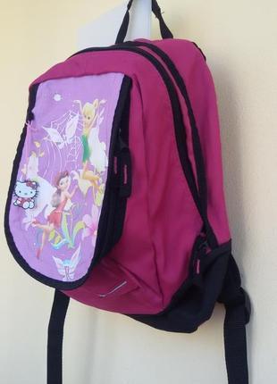 Рюкзак disney fairies. состояние нового