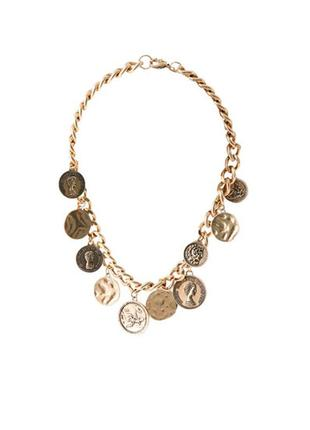 Ожерелье с монетами pull&bear