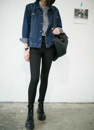 Обнова! джинсовка джинсовый пиджак куртка оверсайз классика качество