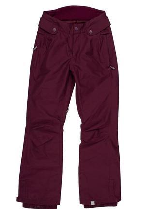 Жіночі гірськолижні штани roxy mt builer xs violet