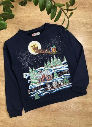 Стильный свитер/свитшот s-m