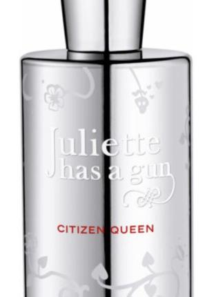 Citizen queen juliette has a gun