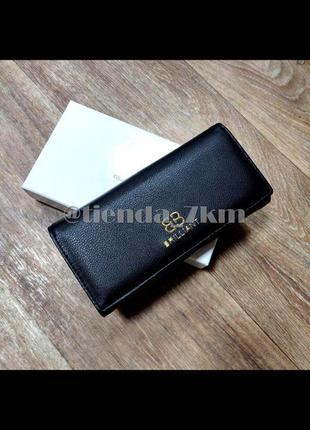 Женский кошелек в коробке 907 black (черный)