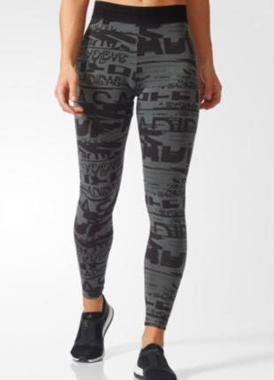 Оригинальные лосины лосинки спортивные штаны адидас adidas