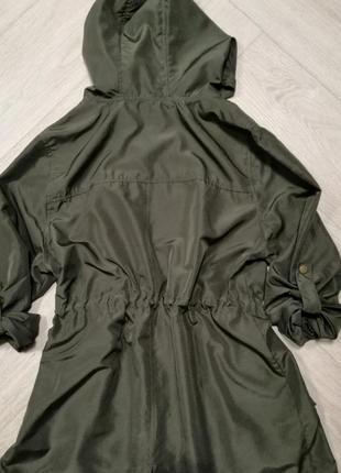 Тоненькая курточка под парку2 фото