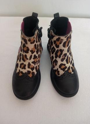 Стильные демисезонные ботинки cavalier mama en baby