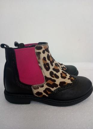 Стильные демисезонные ботинки cavalier mama en baby3