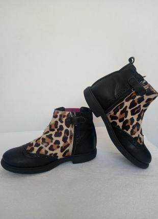 Стильные демисезонные ботинки cavalier mama en baby4