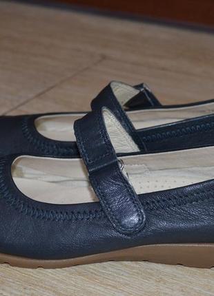 Medicus 39р кожаные балетки мокасины туфли