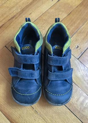 Демисезонные ботинки ecco 26 размер, стелька 16,5