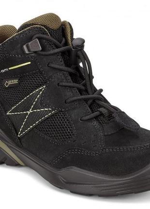 Ecco biom vojage - кожаные ботинки с gore - tex - 30р dc2b71c12041d