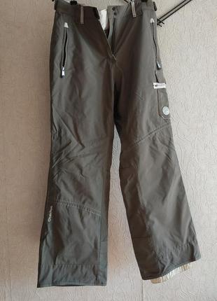 Лыжные штаны, деми, не промокают