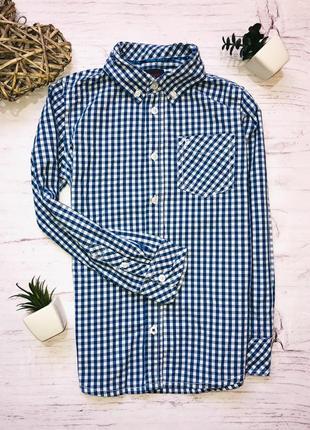 Стильная рубашка esprit 8-9 лет (128-134)