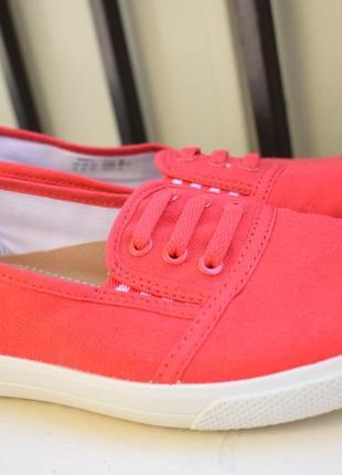 Стильные летние туфли мокасины слипоны лоферы hotter р.37 24,5 см