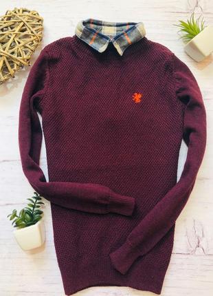Стильный свитер-обманка next 9 лет (134)