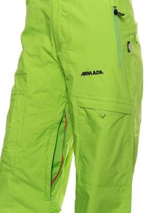 Жіночі гірськолижні штани armada tradition green l