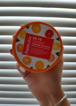 Гидрогелевые патчи farm stay dr-v8 vitamin