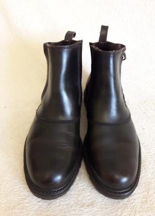 Добротные кожаные ботинки фирмы 4riders ( германия) р 39 стелька 25 см