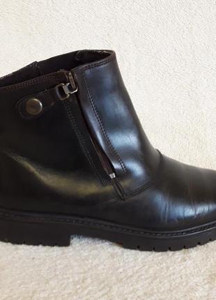 Добротные кожаные ботинки фирмы 4riders ( германия) р 39 стелька 25 см2 фото