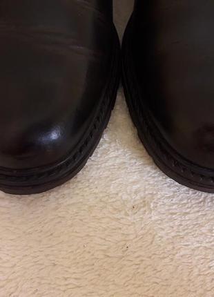 Добротные кожаные ботинки фирмы 4riders ( германия) р 39 стелька 25 см5 фото