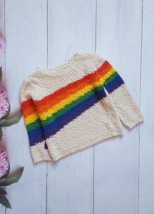 Стильный свитер/девочка 3-4 года