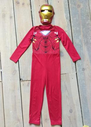 Карнавальный костюм железный человек на рост до 116 см до 6 лет