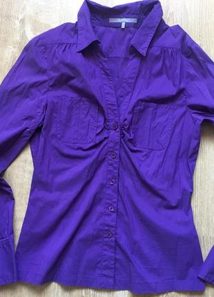 Женская рубашка приталенная .