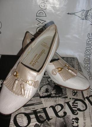 Супер комфортные итальянские кожаные туфли