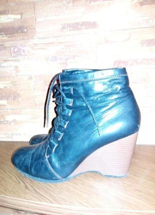 Ботинки _ полусапожки осенние кожаные