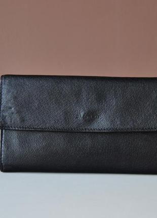 Кожаный кошелек saddler / шкіряний гаманець