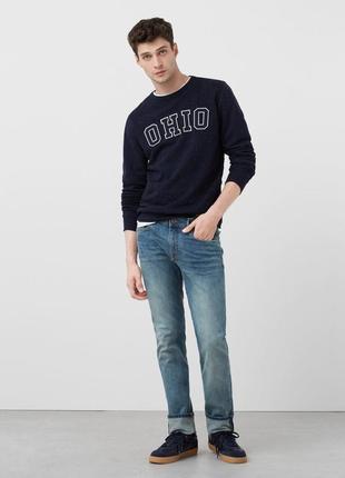 Зауженные джинсы mango man розмір 28/38