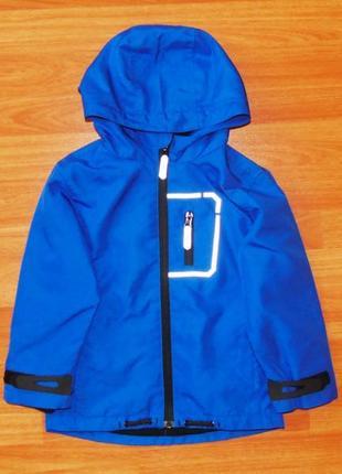 Синяя куртка,ветровка rebel, 3-4 года, 104,110 состояние отличное