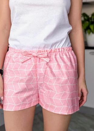 Пижамные шорты, шортики из хлопка