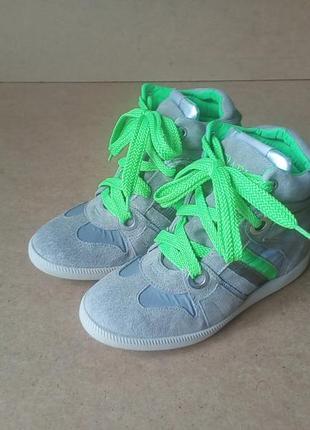 Сникерсы serafini замшевые италия ботинки демисезонные