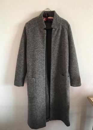 Тепле пальто накидка