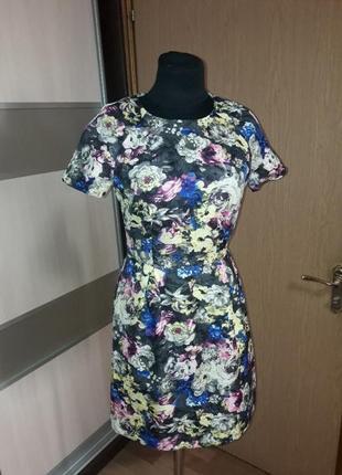 Очень красивое,яркое нарядное платье new look s