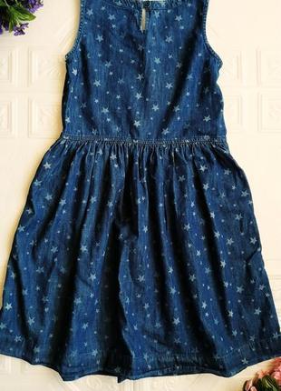 Джинсовое платье сарафан gap3 фото