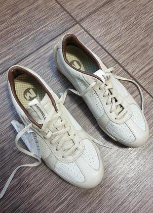 Нереально крутые, качественные туфли, мокасины, кроссовки merrell , кожа, оригинал