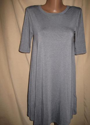 Свободное вискозное платье cynthia rowley р-рxs