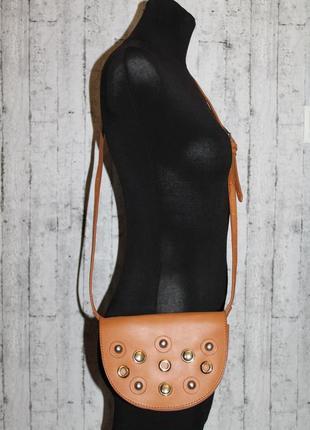 Стильная сумочка кроссбоди эко-кожа