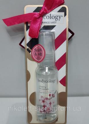 Мист парфюмированный спрей для тела body cology cherry blossom 30 мл