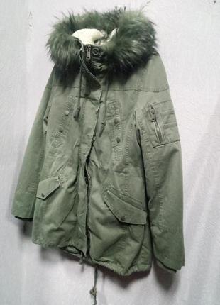 Парка, куртка демисезонная