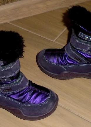 Primigi gore tex зимние термо ботинки 28 р