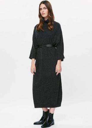 Cos платье oversized, 100% шерсть