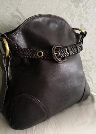 Оригинальная кожаная сумка saccobono1