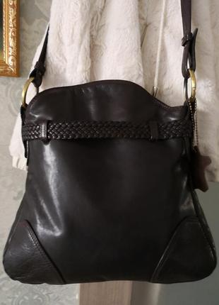 Оригинальная кожаная сумка saccobono3