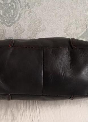 Оригинальная кожаная сумка saccobono4