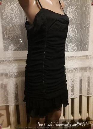 Новое с биркой нарядное маленькое чёрное платье, размер с-м
